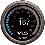 Revel VLS Digital Oil Temp Gauge 52mm