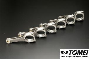 Tomei Forged H-Beam Connecting Rods Nissan RB25/RB26