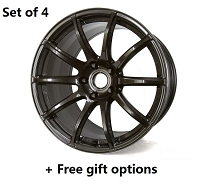 Gram Lights 57Transcend 18x9 5x100 +38 wheels Gunmetal (+FREE GIFT)