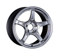 (Set of 4) SSR Wheels GTX03 18x9.5 ET12 5x114.3 Platinum Silver + Gift